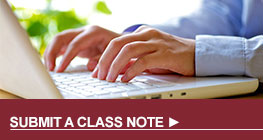 Submit a Class Note Button