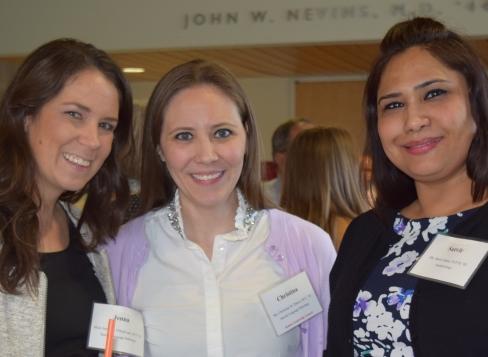 SHSP Alumni at Event